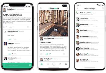 pll social network app screenshots 2020-10